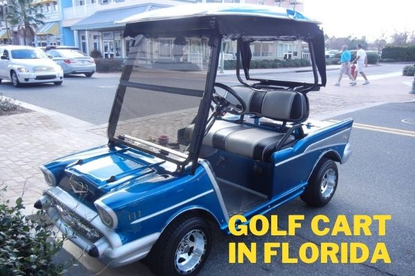 How old do you have to be to drive a golf cart in Florida
