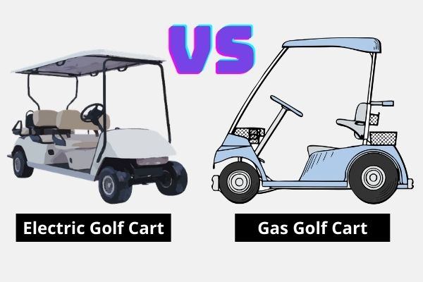 Which is better gas or electric golf cart?
