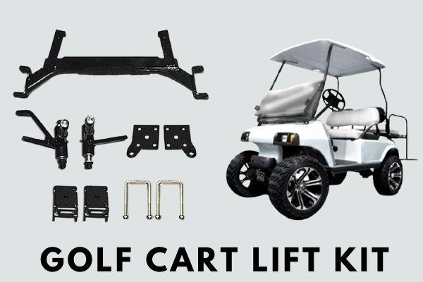Golf cart lift kit