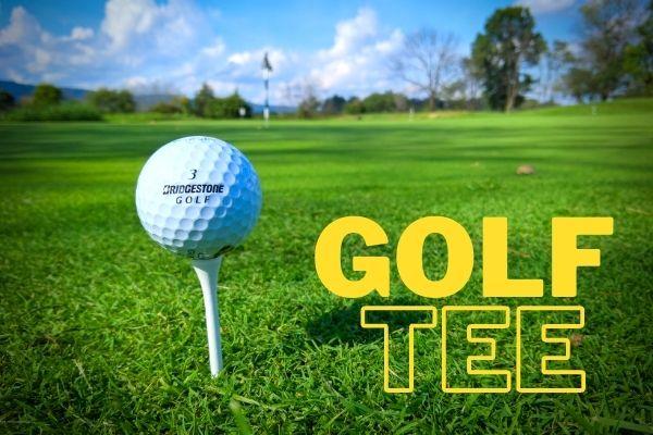 Golf tee sizes