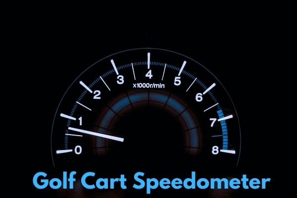 Golf Cart Speedometer