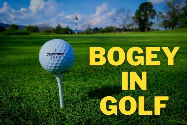 Bogey in Golf