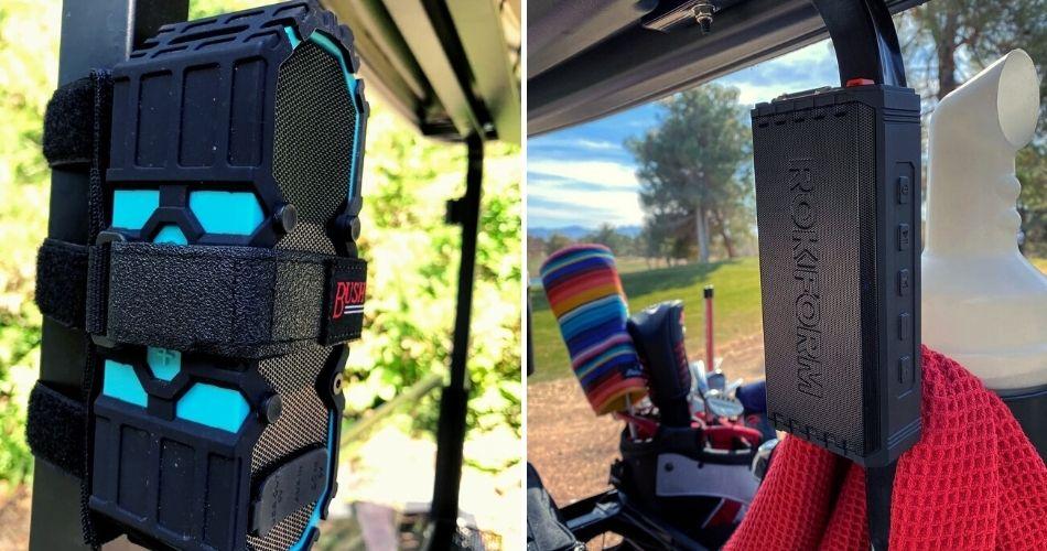 Golf Cart Speaker and Mount