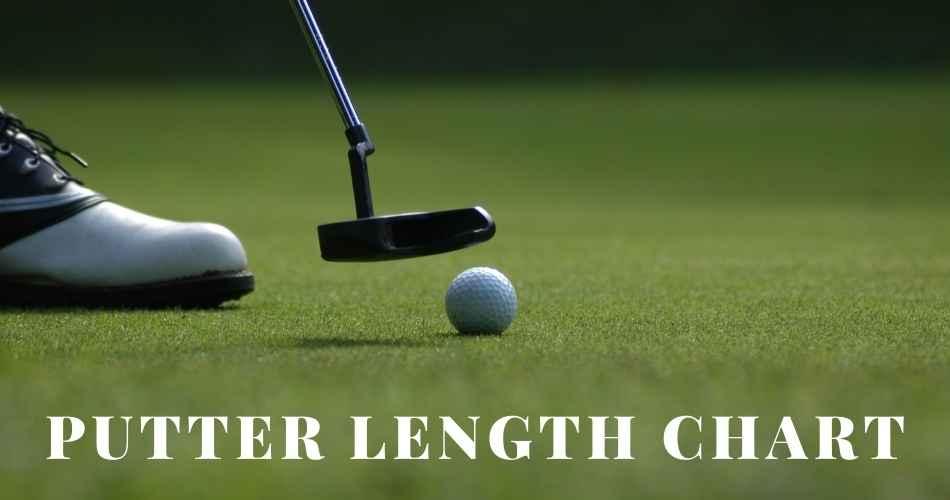 Putter Length Chart